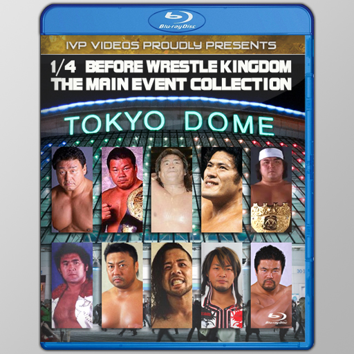 NJPW January 4th Main Events (Blu-Ray with Cover Art)