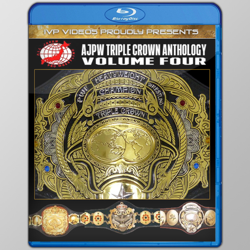 History of AJPW Triple Crown Title V.4 (Blu-Ray with Cover Art)