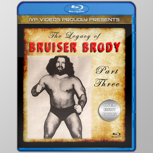 Legacy of Bruiser Brody V.3 (Blu-Ray with Cover Art)