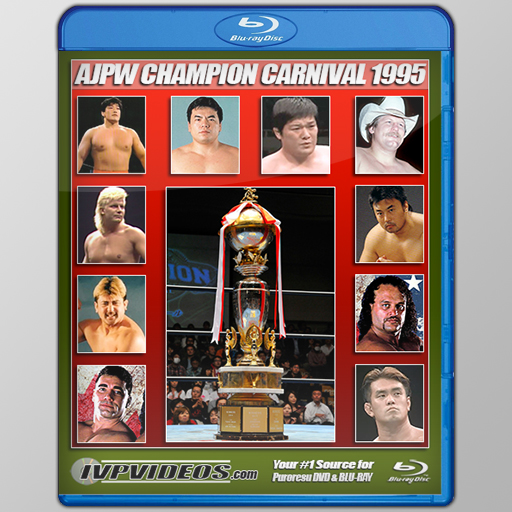 AJPW 1995 Champs Carnival (Blu-Ray with Cover Art)