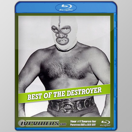 Best of The Destroyer (Blu-Ray with Cover Art)