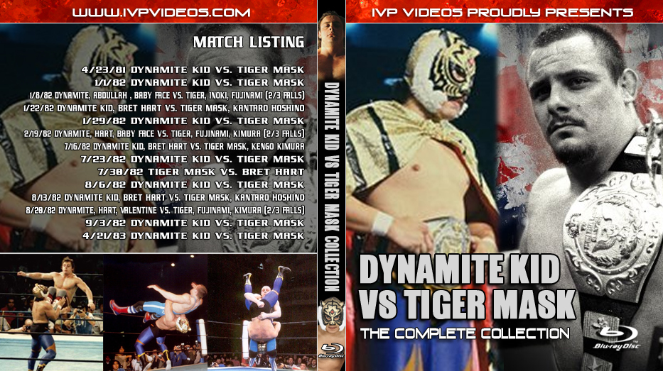 Best of Dynamite Kid vs. Tiger Mask (Blu-Ray with Cover Art)