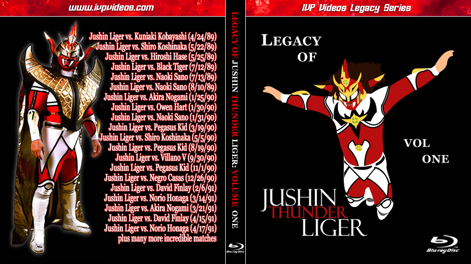 Best of Jushin Lyger (Blu Ray with Cover Art)