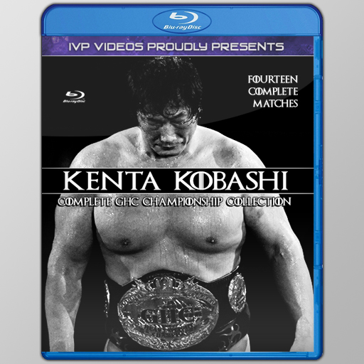 Best of Kobashi GHC Title Reign (Blu-Ray with Cover Art)