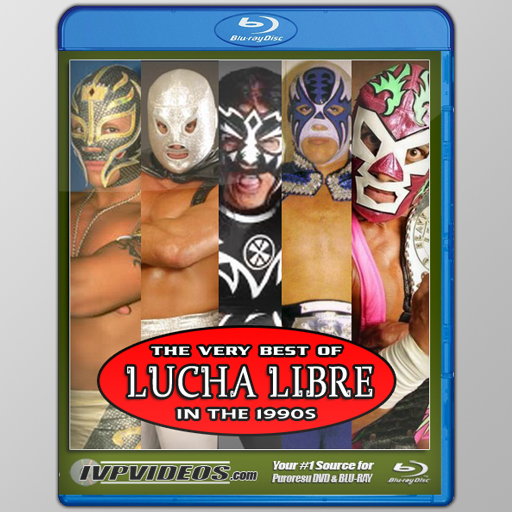 Best of Lucha Libre in the 1990s (Blu-Ray with Cover Art)