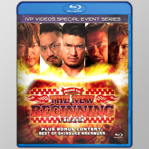 NJPW 01/30/2016 January 30th 2016 (Blu-Ray with Cover Art)