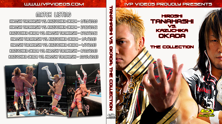 Best of Okada vs. Tanahashi (Blu-Ray with Cover Art)