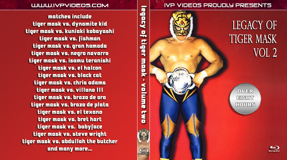 Legacy of Tiger Mask V.2 (Blu-Ray with Cover Art)