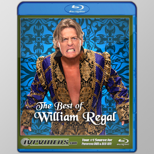Best of William Regal (Blu-Ray with Cover Art)