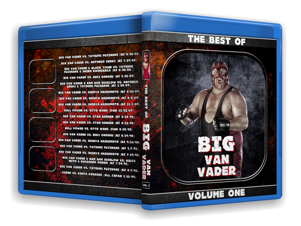 Best of Vader (Blu-Ray with Cover Art)